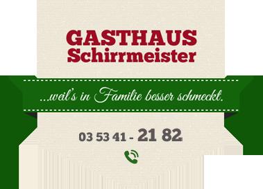 Logo: Gasthaus Schirrmeister Ines Backhaus