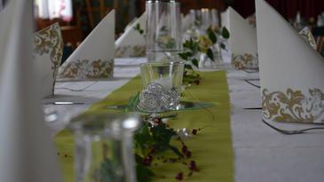 Unser Veranstaltungsraum für Ihre Feiern und Seminare