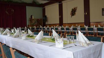 Veranstaltungsraum für Ihre Feiern und Seminare